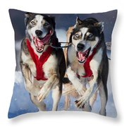 The Champions Throw Pillow