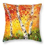 The Change Throw Pillow