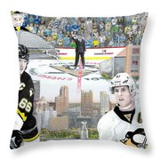 The Changing Of The Guard Throw Pillow