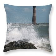 The Changing Tides Throw Pillow