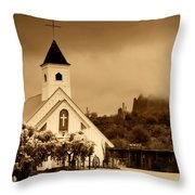 The Chapel At The Supes  Throw Pillow