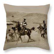 The Charge Of The Light Brigade 1936 Throw Pillow