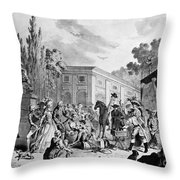 The Charlatan, C1795 Throw Pillow