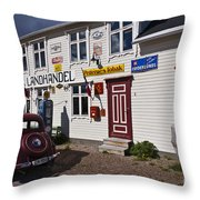 The Charm Of The Old Times Throw Pillow