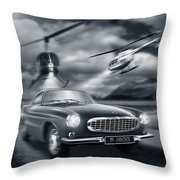 The Chase 2 Throw Pillow
