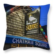The Chatham Squire Throw Pillow