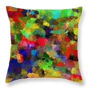 The Chatterers Throw Pillow