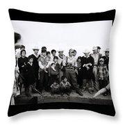 The Chiapas People Throw Pillow