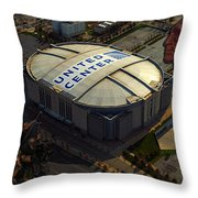 The Chicago Blackhawks Throw Pillow