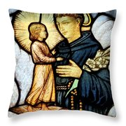 The Child Prophet Throw Pillow