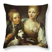 The Children Of The Painter Throw Pillow