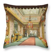 The Chinese Gallery, From Views Throw Pillow