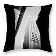 The Chippendale Building Throw Pillow