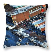 The Chippstrip Winter 2013 Throw Pillow