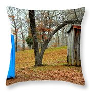 The Choice Is Up To You Throw Pillow