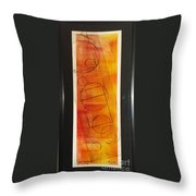The Choice To Act Or Let Be Throw Pillow by Yael VanGruber