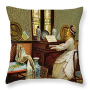 The Chorale Throw Pillow