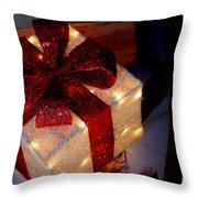 The Christmas Gift Throw Pillow