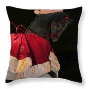 The Christmas Horse Throw Pillow