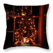 The Christmas Tree Throw Pillow