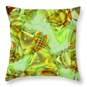 The Chrysalis Shatters Throw Pillow