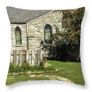 The Church 2 Throw Pillow