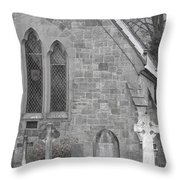 The Church 2 Throw Pillow
