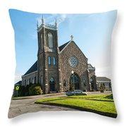 The Church Of Saint Patrick Throw Pillow