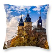 The Church Of St. Louis  Throw Pillow