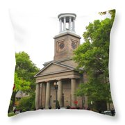The Church Of The Presidents Throw Pillow