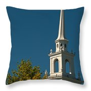 The Church Of The Redeemer Throw Pillow