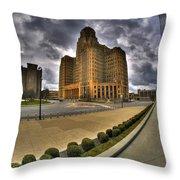 The Circles Circumference Of Niagara Square Throw Pillow