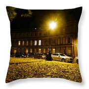 The Circus At Night Throw Pillow