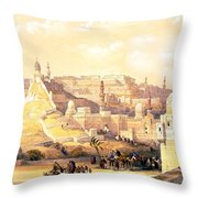 The Citadel Of Cairo Residence Of Mehemit Ali Throw Pillow