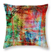 The City 10 Throw Pillow