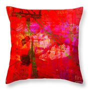 The City 16 Throw Pillow