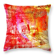 The City 22 Throw Pillow