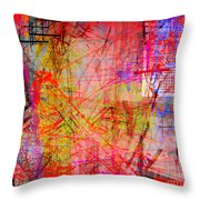 The City 35a Throw Pillow