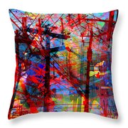 The City 43 Throw Pillow