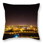 The City Of Jerusalem Throw Pillow
