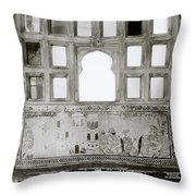 The City Palace Window Throw Pillow