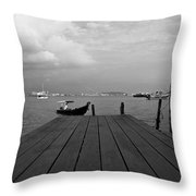 the Clan Jetty Throw Pillow
