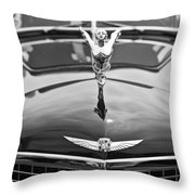 The Classic Cadillac Car At The Concours D Elegance. Throw Pillow
