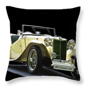 The Classic Mg Throw Pillow