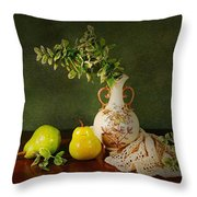 The Classical Urn Throw Pillow