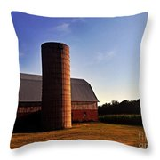 The Clayton Barn Throw Pillow