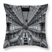 The Cleveland Arcade Viii Throw Pillow