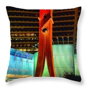 The Clothes Pin Throw Pillow