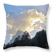 The Cloud Above Throw Pillow