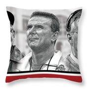 The Coaches Throw Pillow
